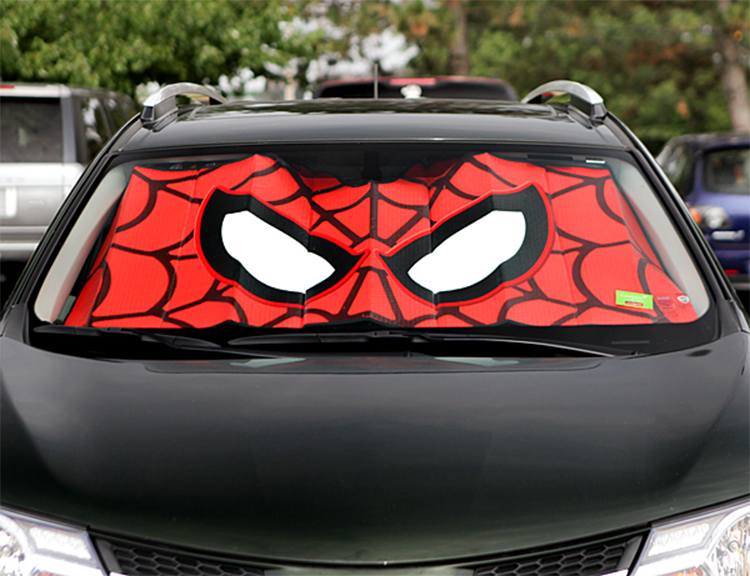spider man prot ge aussi votre voiture yopaky. Black Bedroom Furniture Sets. Home Design Ideas