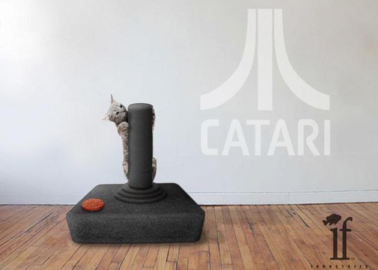 laissez votre chat faire ses griffes sur votre manette nes yopaky. Black Bedroom Furniture Sets. Home Design Ideas